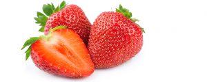 kruidenazijn van aardbeien